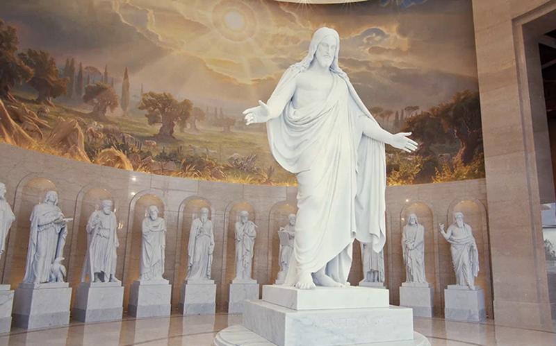 Imagen estatua Christus en el templo de Roma