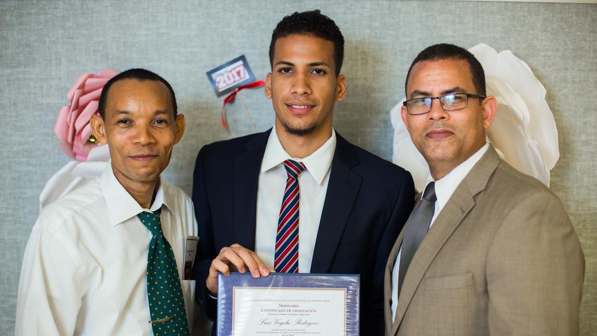 Joven graduado