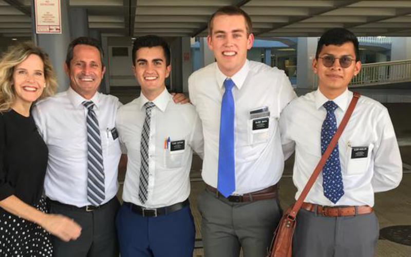 Misioneros felices de su regreso a Puerto Rico
