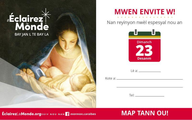 Mwen Envite W!