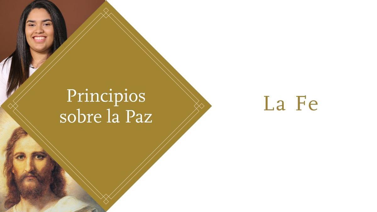 Principios sobre la Paz: La Oración, #PrincipeDePaz