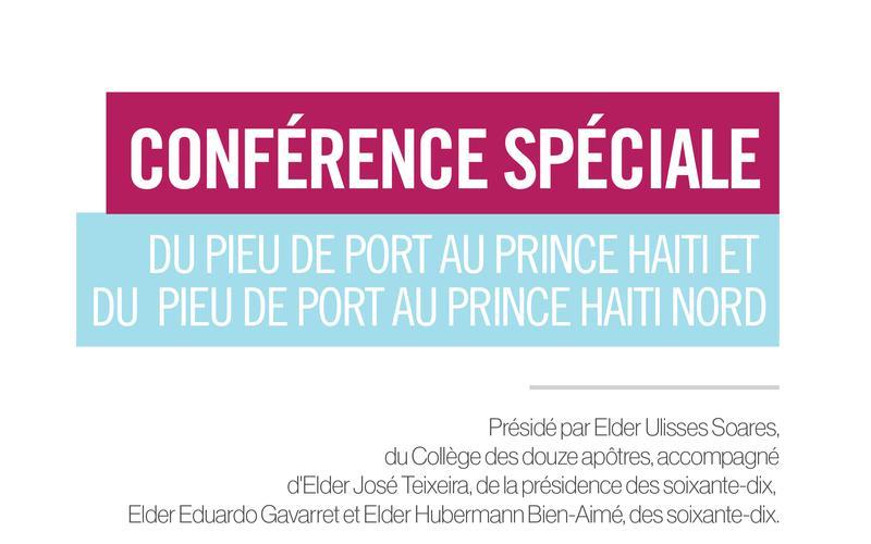 Conférence Spéciale Pout Au Prince Haiti