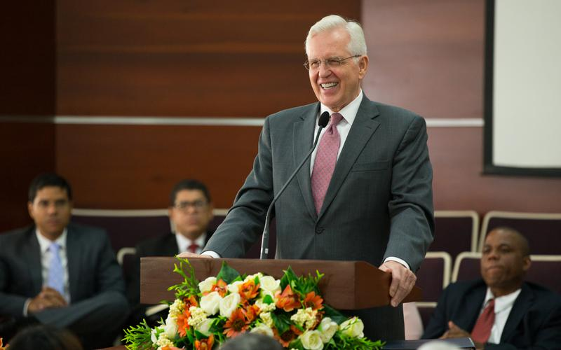 Special Conference with Elder D. Todd Christofferson at the Dominican Republic San Gerónimo Stake