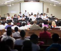 Presentaciones del coro de campanas Jóvenes de Sión
