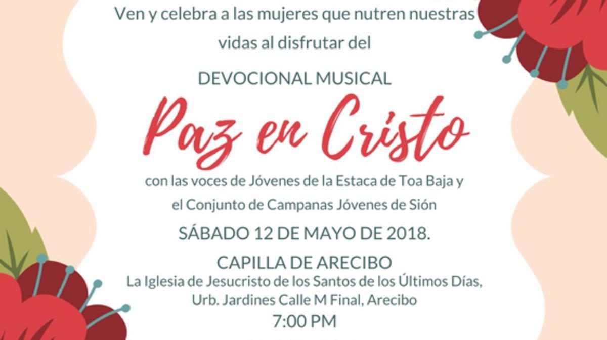 Devocional Musical Paz en Cristo