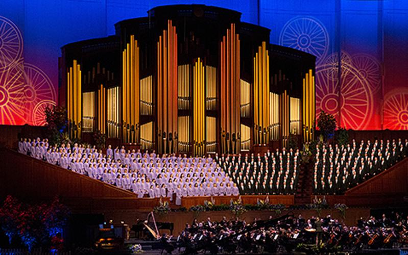 2018 Mormon Tabernacle Choir and Orchestra at Temple Square Pioneer Day Concert