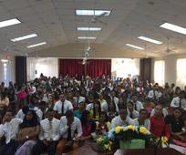 Jóvenes asistieron al evento