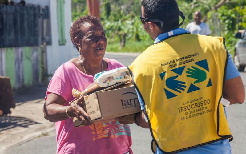 'Manos Mormonas que ayudan' en municipio de Comerio