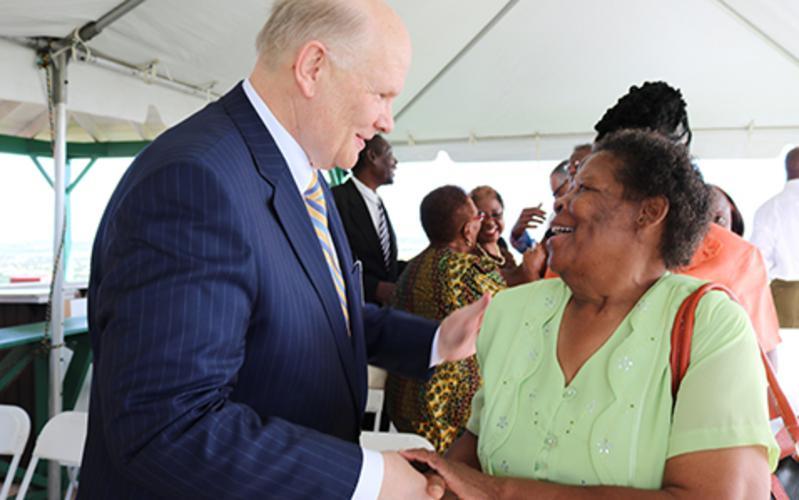 Elder Renlund Dedicates Barbados