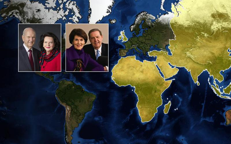 President and Sister Nelson to Embark on Global Ministry Tour