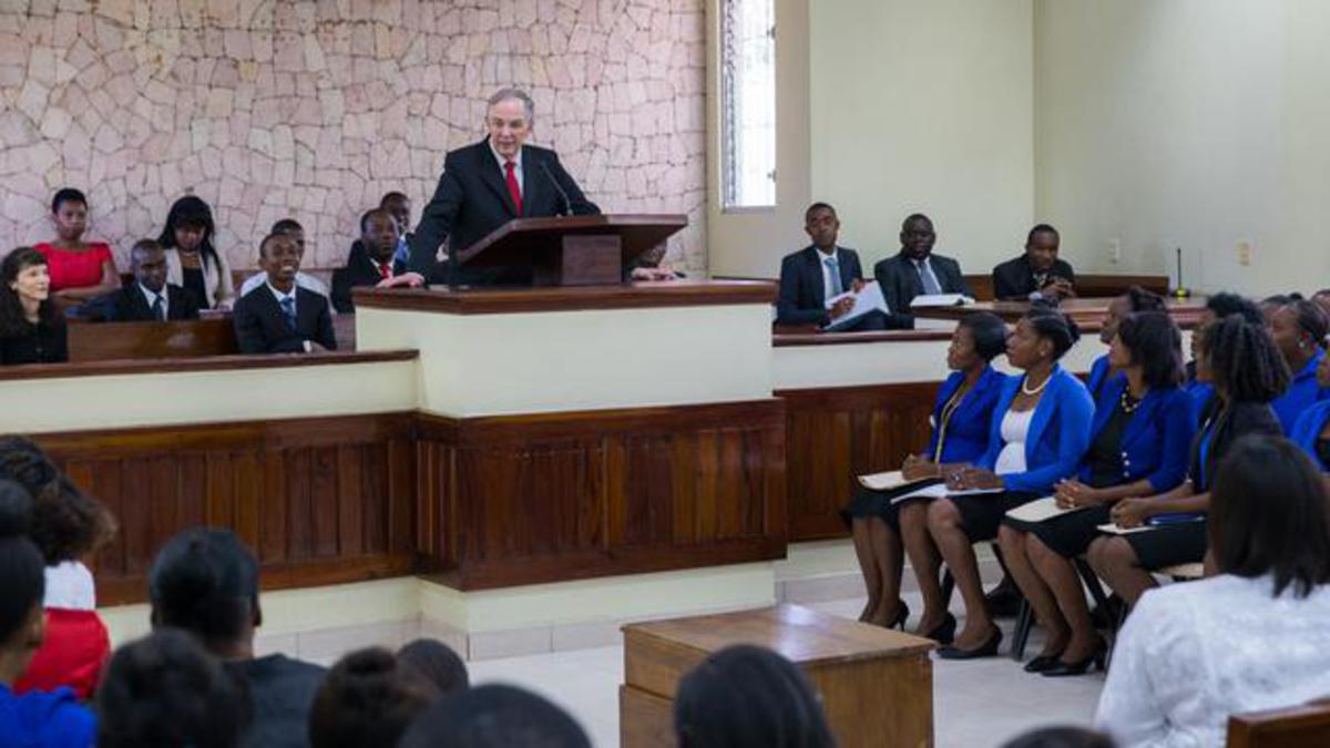 Elder Andersen en Haiti