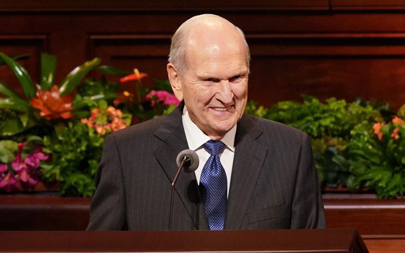 El presidente Nelson se centra en la fe, el arrepentimiento y los convenios en la conferencia general de abril de 2019