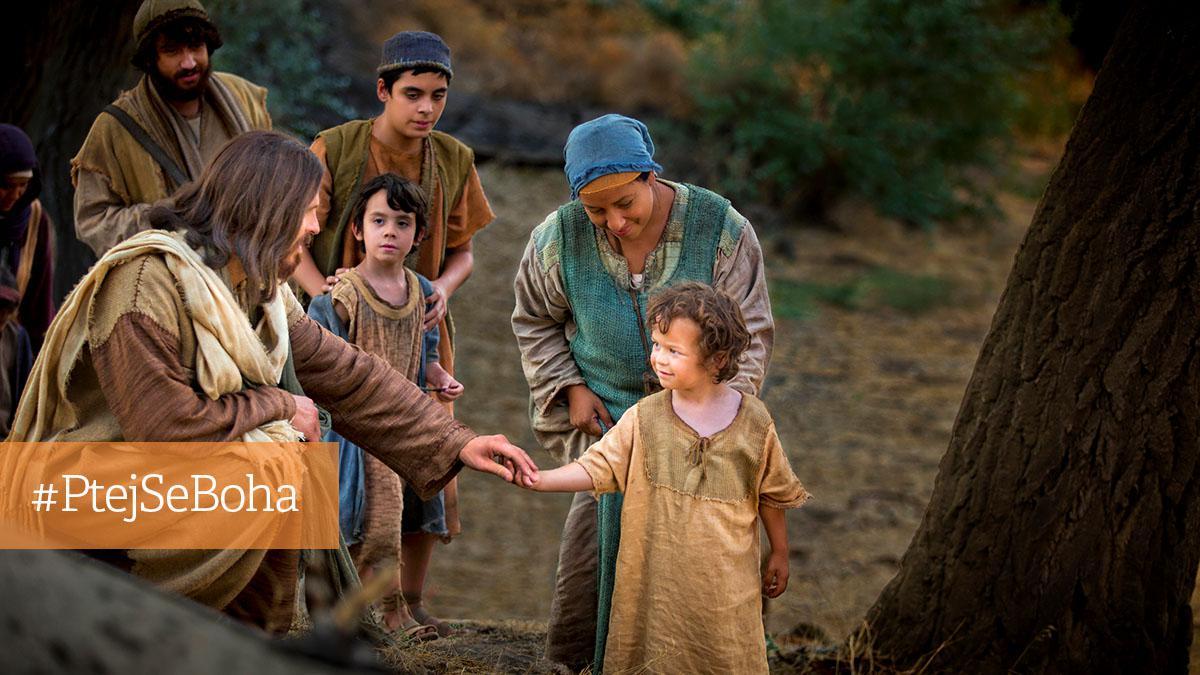 Ježíš Kristus smalým dítětem