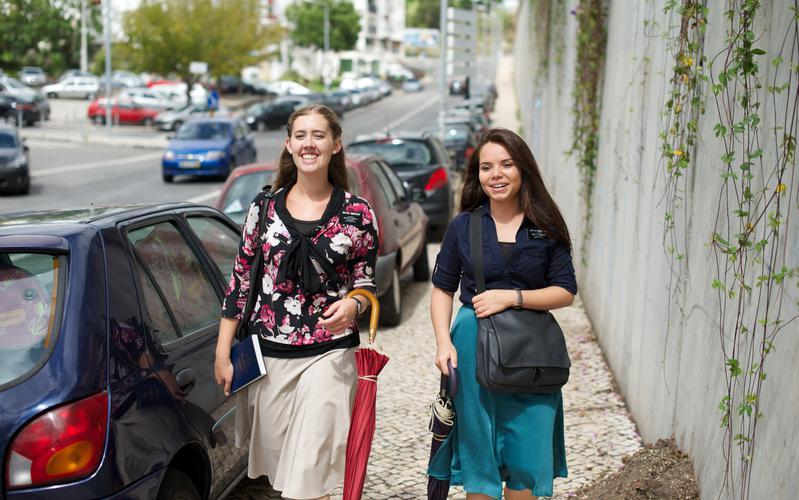 Missionárias em Portugal