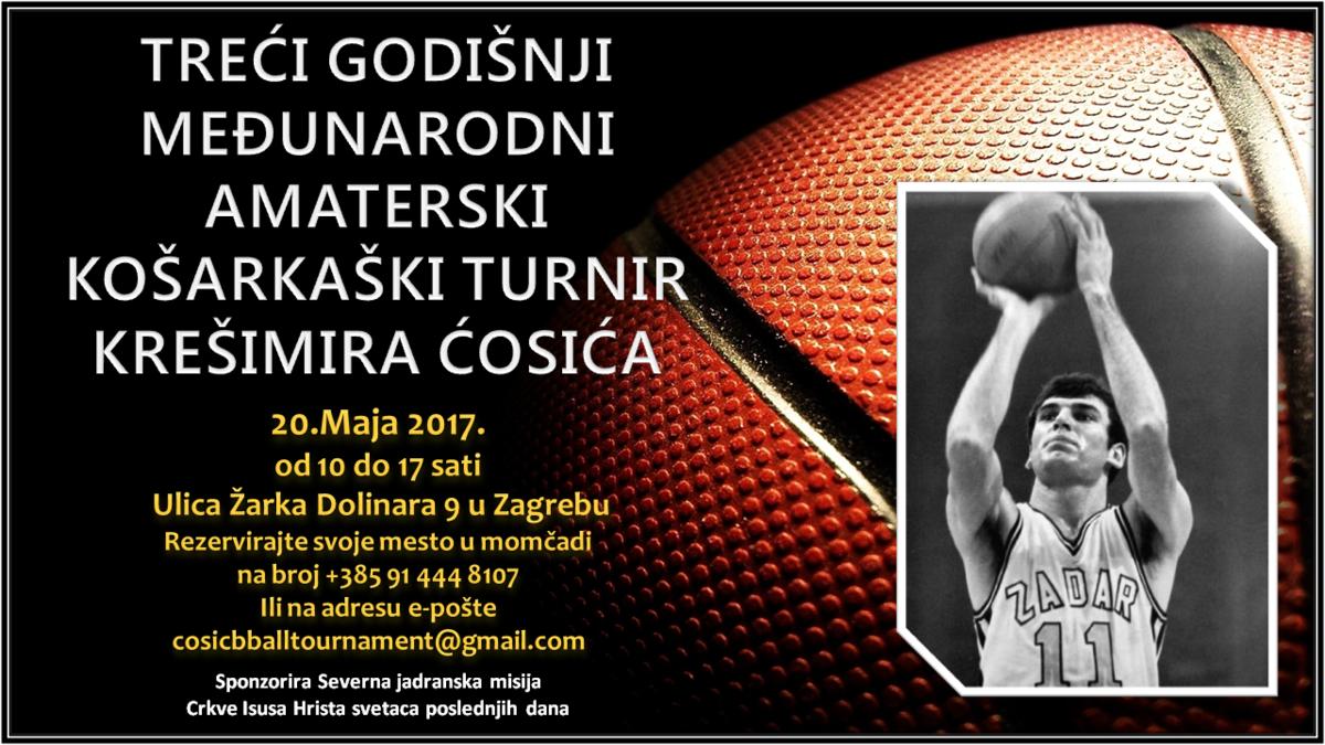 Krešimir Ćosić Košarkaški Turnir 2017