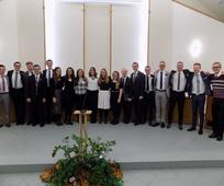 Misijonari iz Slovenije pojejo