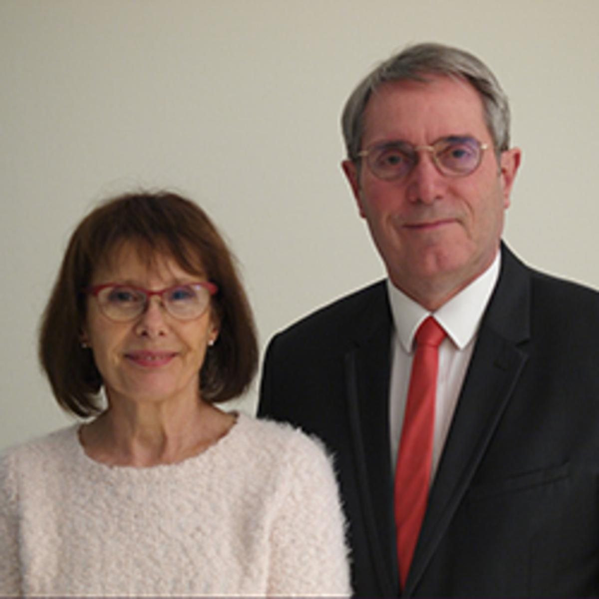 Jean-Marc Bourroux and Monique Lenormand Bourroux
