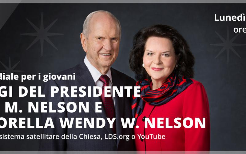 Devozionale per i giovani - Presidente Russel M. Nelson e Sor. Nelson