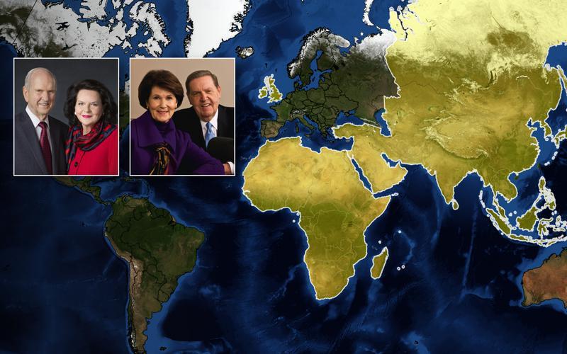 Il presidente Nelson visiterà Europa, Africa e Asia nel mese di aprile