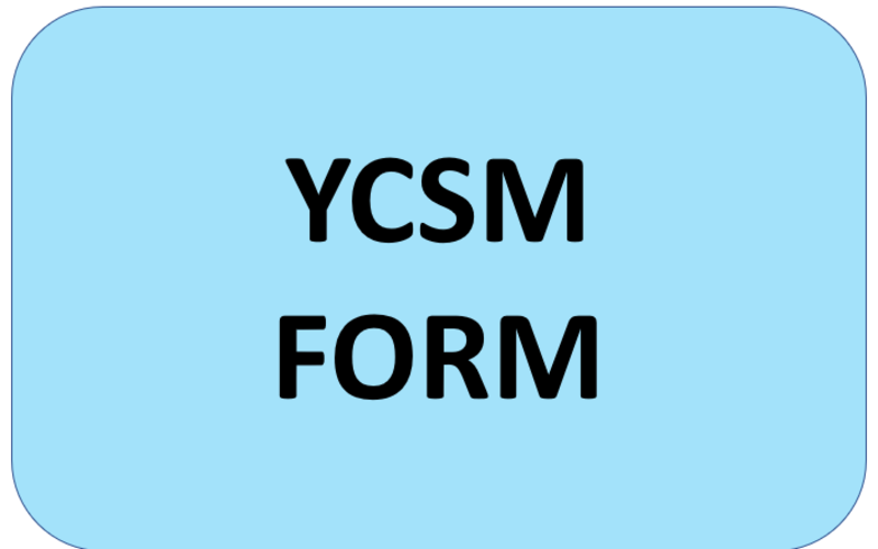 YCSM Recommendation Form