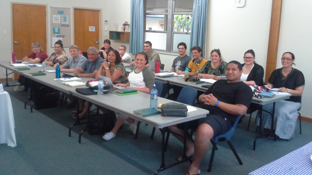 BYU Pathways class being held in Perth, Australia