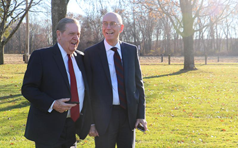 President Eyring and Elder Holland