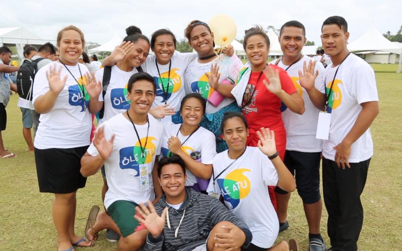 Samoan Youth at FSY