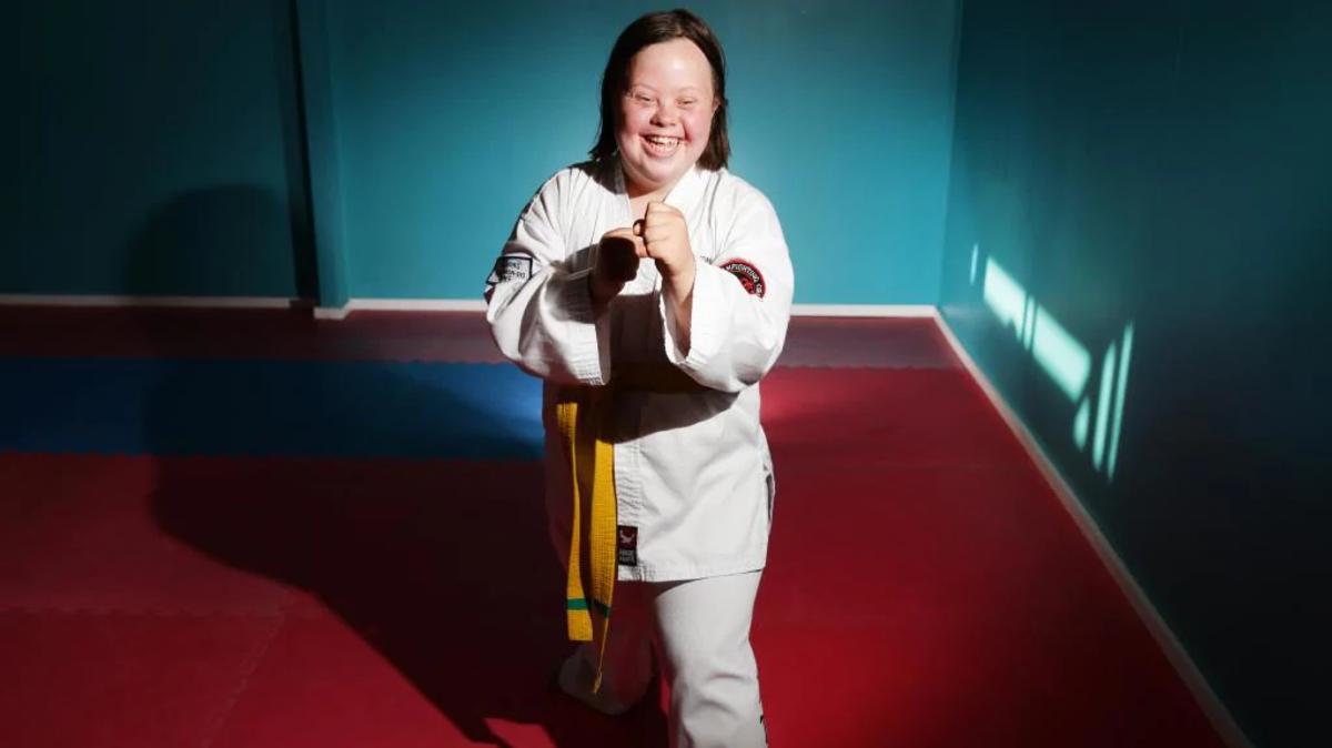 Lindy Crouch - Gold Medalist in Taekwondo