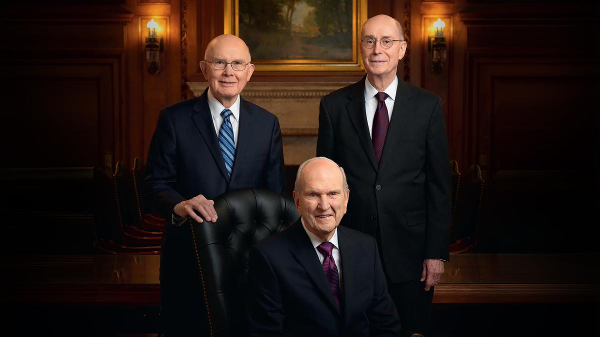 President Russell M. Nelson and the new First Presidency