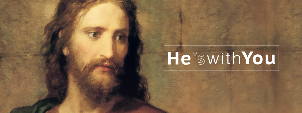 Jesus Christ is not in the tomb. He is Risen. He Lives. He is with us.
