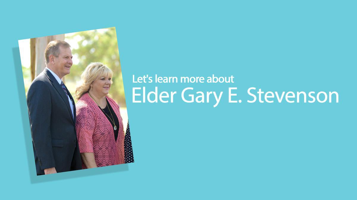 Let's learn more about Elder Gary E. Stevenson