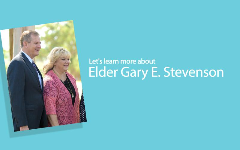 Let's learn more about Elder Gary E. Stevenson