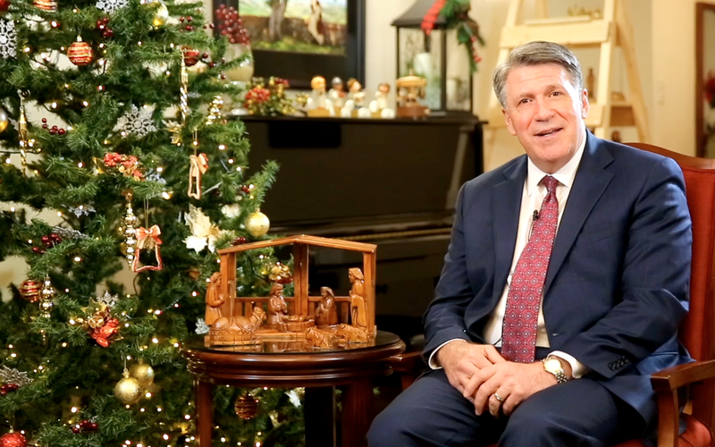 Elder Evan A. Schmutz, Elder Michael John U. Teh, and Elder Taniela B. Wakolo share their #LightTheWorld message to Filipino Saints.