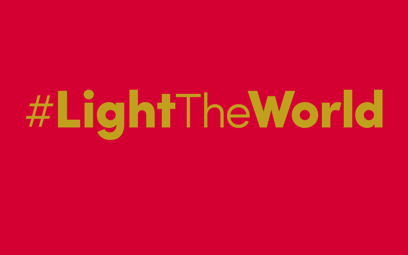 Share Your #LightTheWorld Experiences
