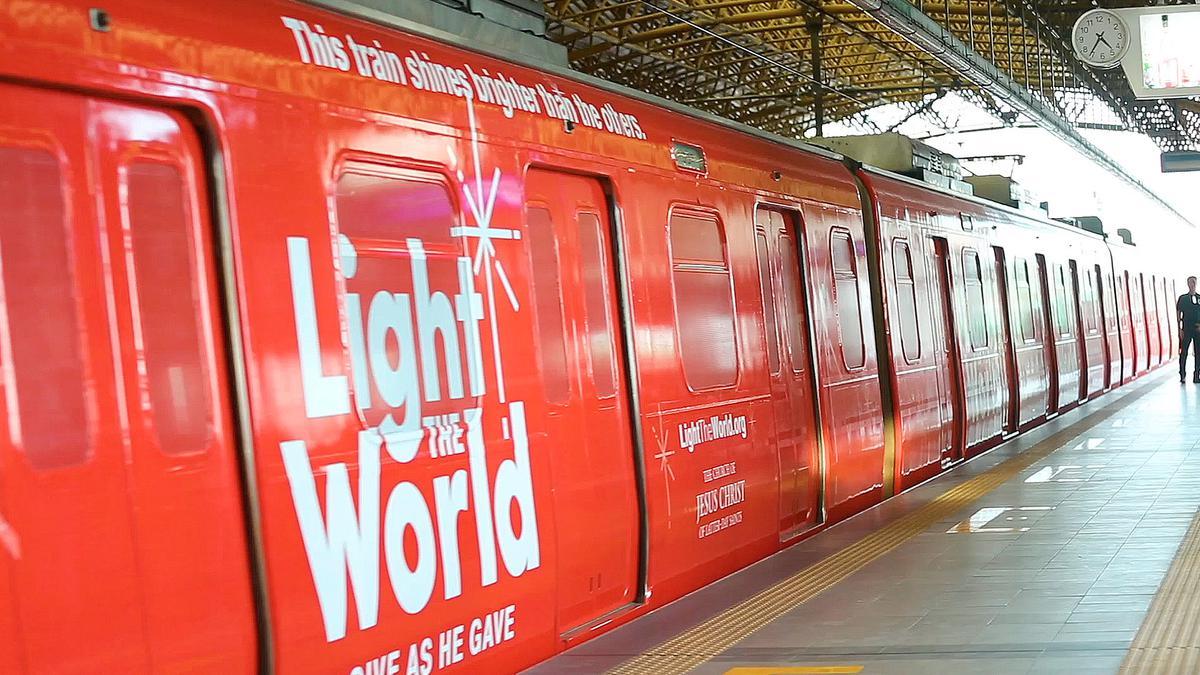 #LightTheWorld Train