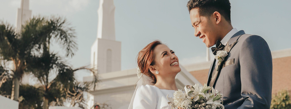 A family begins with the marriage of a man and a woman. Family relationships get solidified and strengthened through personally committing oneself to Jesus Christ.