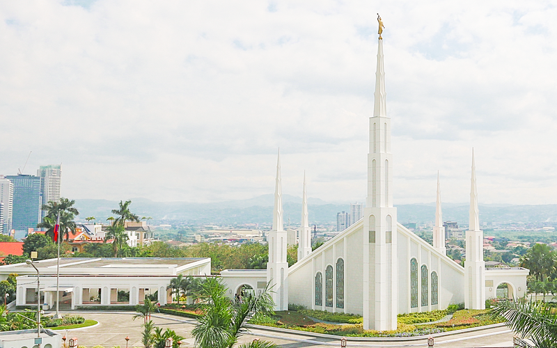 Manila Philippines Temple.