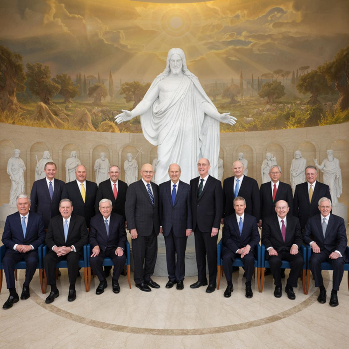 The First Presidency and Quorum of the Twelve Apostles