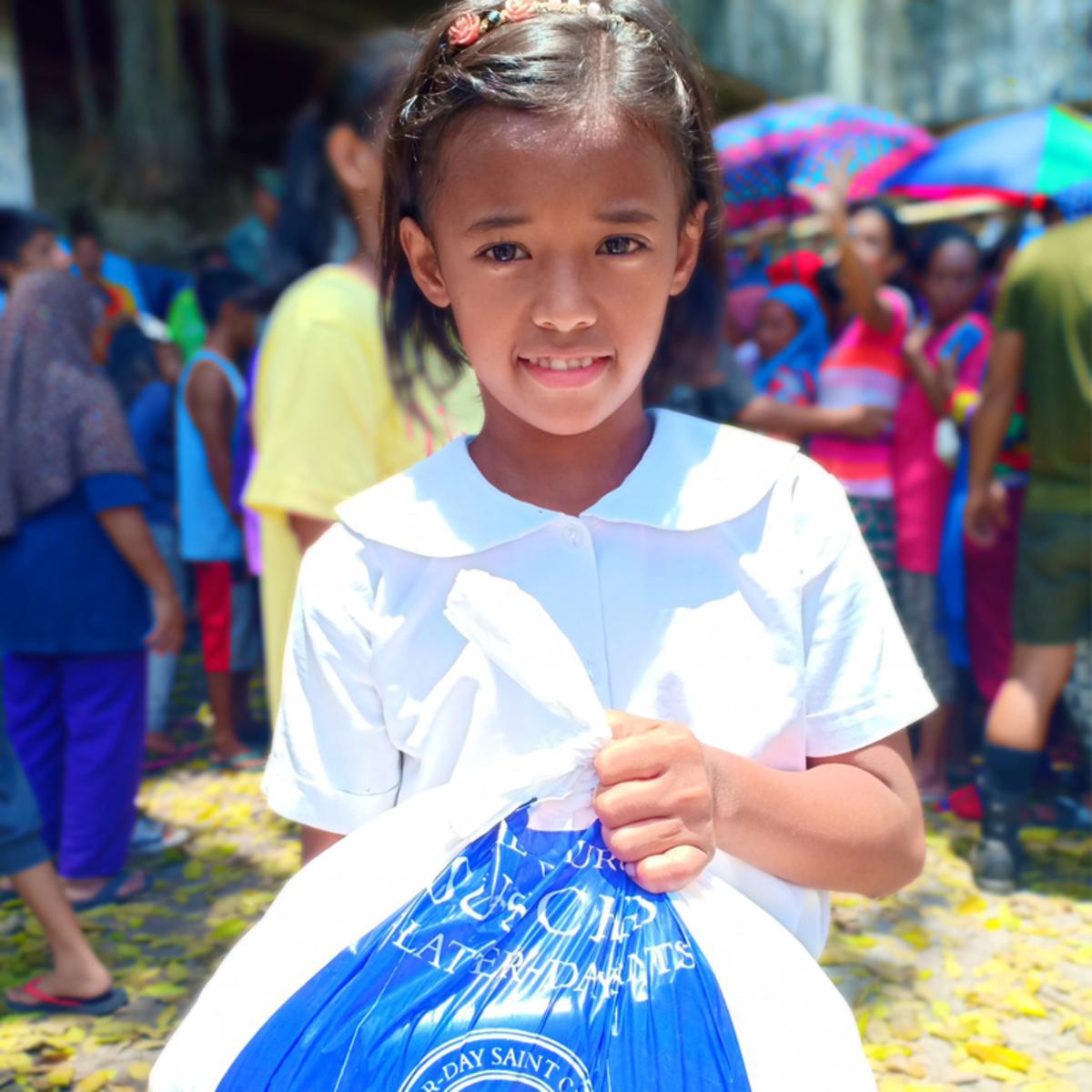 Jolo Fire relief effort