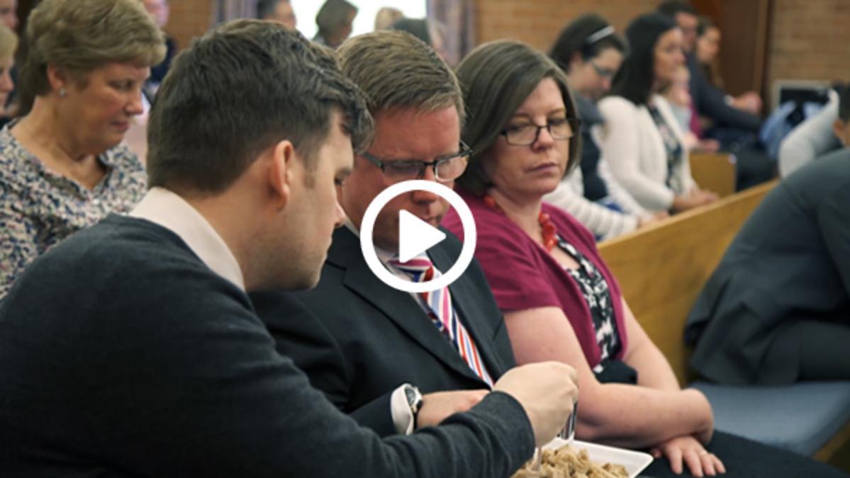 wierni w kongregacji