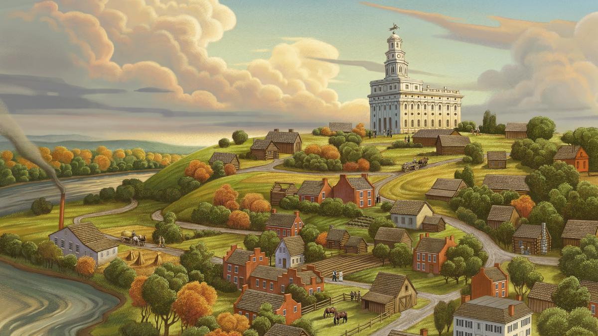 pintura de Nauvoo