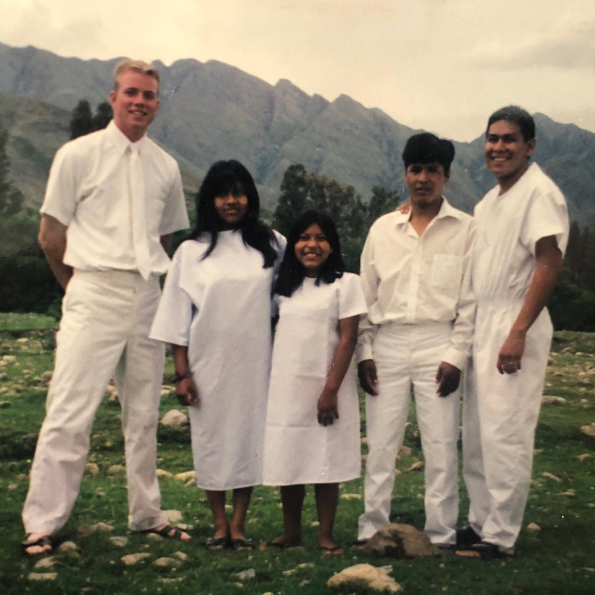 Davis Smith y familia Sanchez