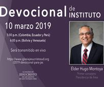 Devocional de Instituto - 10 marzo 2019