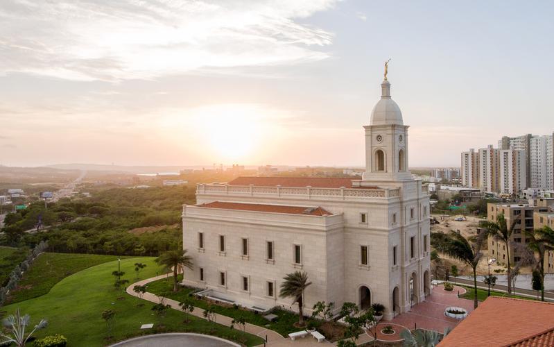 Templo de Barranquilla Colombia Oración Dedicatoria