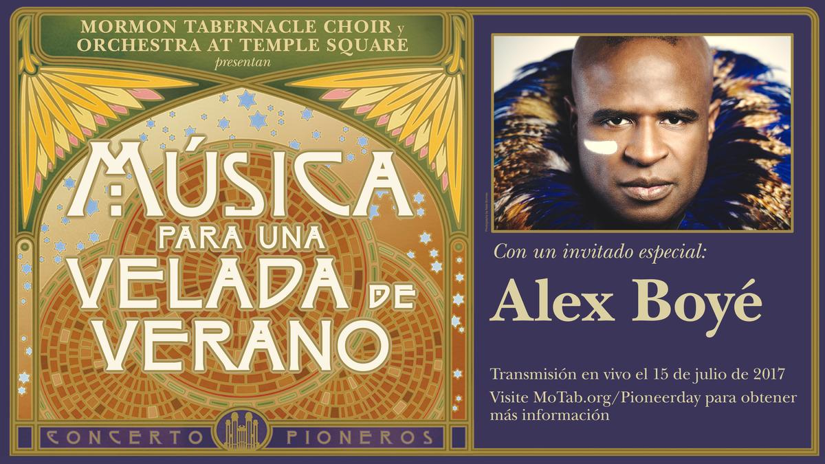 Concierto del Día de los pioneros 2017 con Alex Boye - Música para una noche de verano