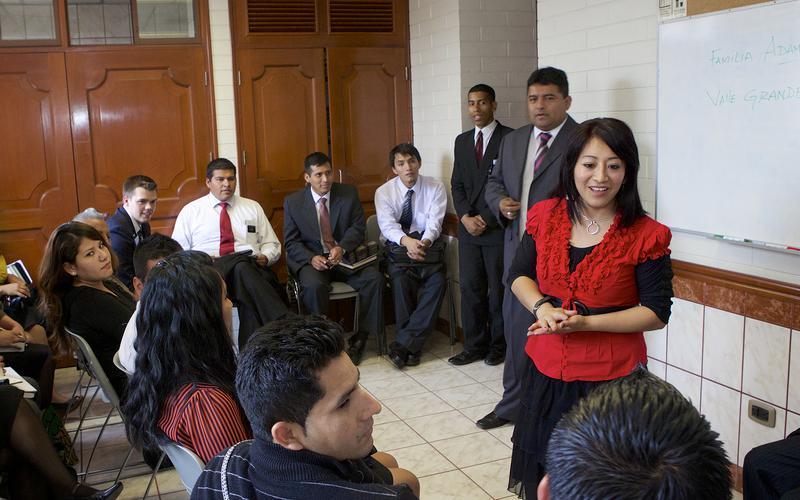 Cambios en reuniones dominicales