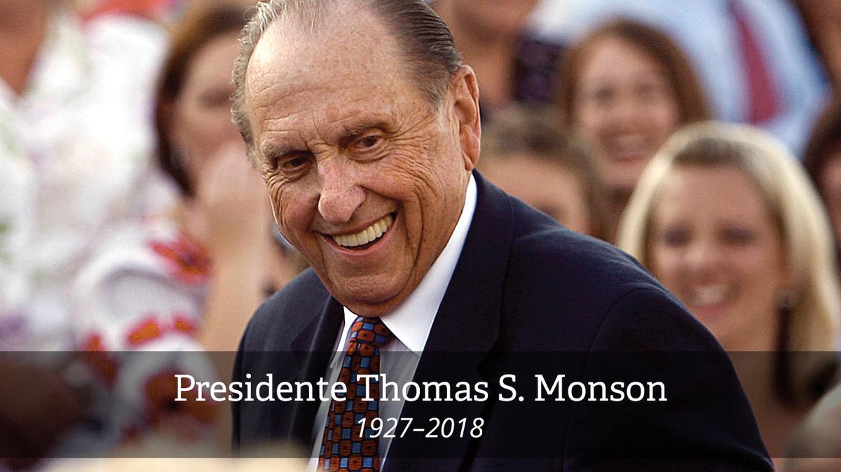 Presidente Monson - 1927 - 2018
