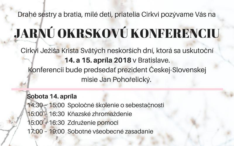pozvánka na konferenciu