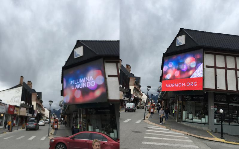 Pantalla LED en Ushuaia