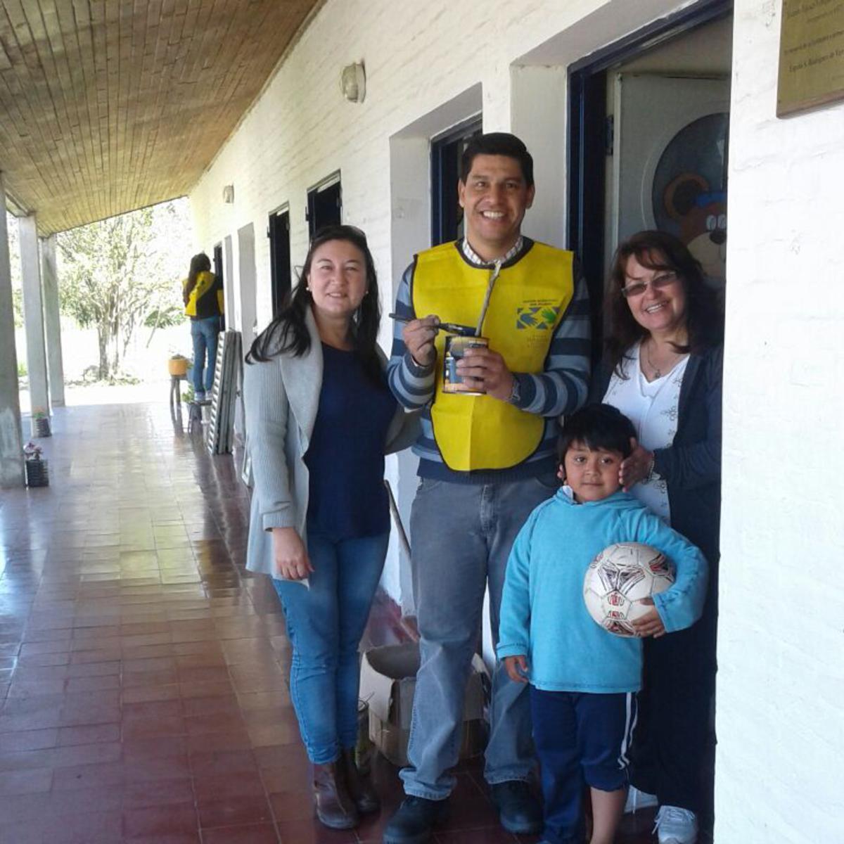 Miembros del Distrito La Paz